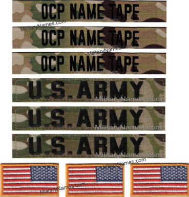 WEST POINT CADETS OCP NAME SET